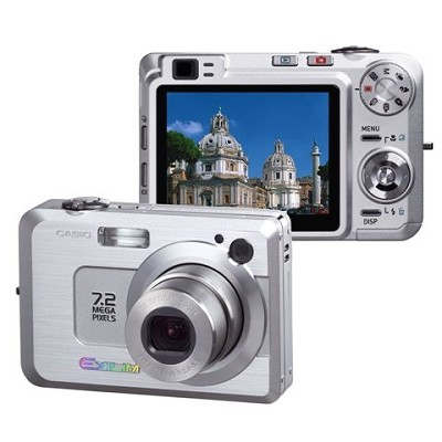 Exilim EX-Z750 7MP Digital Camera with 2.5` LCD