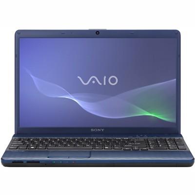 VAIO VPCEH23FX - 15.5 Inch Laptop Pentium B950 Processor (Blue)