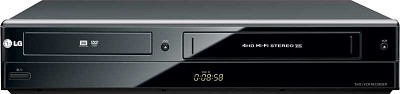 RC897T - Combination DVD/VCR Player & Recorder w/ 1080p Upconversion