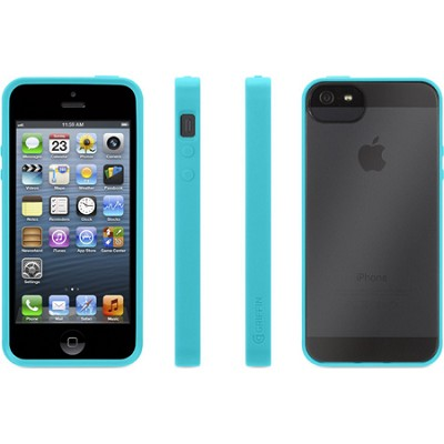 Reveal Case for iPhone 5/5s - Pool Blue/Clear