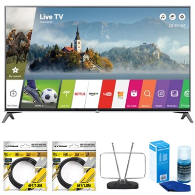 60` Super UHD 4K HDR Smart LED TV 2017 Model 60UJ7700 with Cleaning Bundle