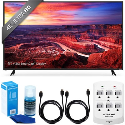 E60-E3 SmartCast 60` Ultra HD Home Theater Display TV w/ Accessory Bundle