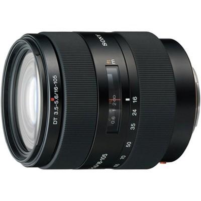 SAL16105 - 16-105mm f/3.5-5.6 Wide-Range Zoom Lens - OPEN BOX