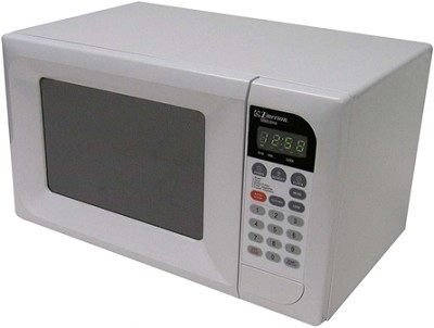 0.7 Cubic ft., 600 Watt Touch Control Microwave (White)