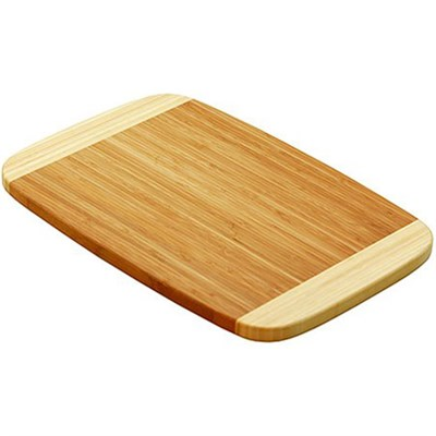 Two Tone Bamboo Cutting Board 8 x 12