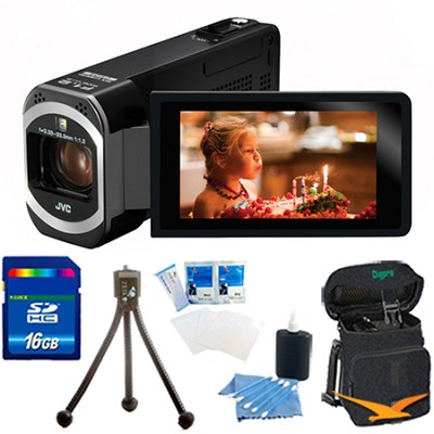 GZ-V500BUS - HD Everio Camcorder with 16 GB Bundle