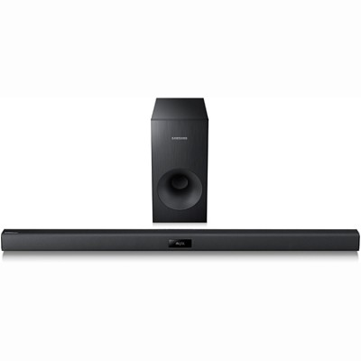 HW-F355 - Wireless Sound Bar System with Wired Subwoofer - OPEN BOX