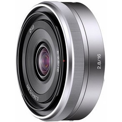 SEL16F28 - 16mm f/2.8 Wide-Angle Lens for NEX Series Cameras - OPEN BOX