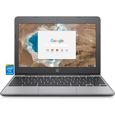 11.6` HD Chromebook - Intel Celeron N3060 - OPEN BOX