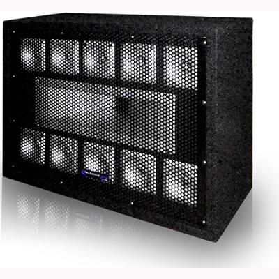 TW110 - Professional Carpeted 11-Way Tweeter Box