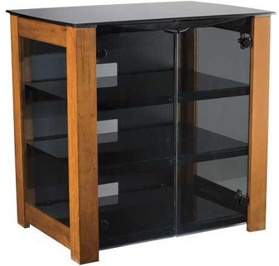 DFAV230CN - Designer Series 4-Shelf A/V Cabinet for TVs up to 37` (Chestnut)