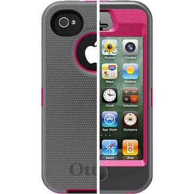 OB iPhone 4/4S Defender - Peony Pink / Gunmetal Grey