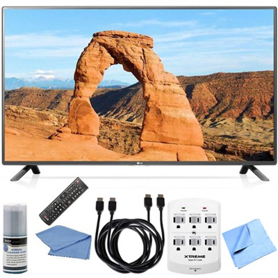 60LF6000 - 60-inch Full HD 1080p 120Hz LED HDTV Hook-Up Bundle