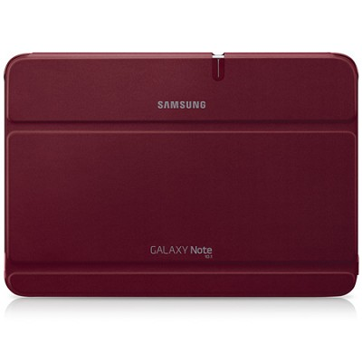 Galaxy Note 10.1 Book Cover - Garnet Red
