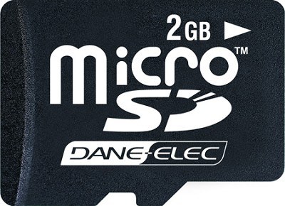 2 GB Micro SD Memory Card ( free upgrade to 4GB )