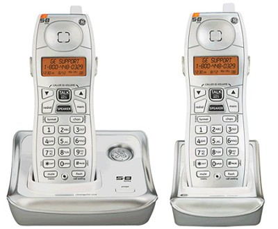 5.8 GHz Cordless phone w/ call waiting caller ID and additional handset(s)