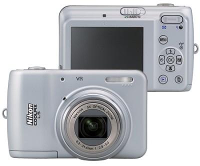 Coolpix L5 7.2MP Digital Camera