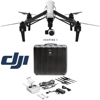 Inspire 1 Quadcopter Drone with 4K Camera Free Hard Case - OPEN BOX