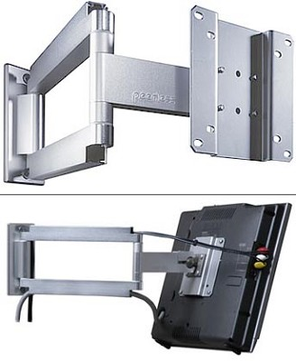 Smart Mount Articulating Arm for 10` to 22` LCDs (Silver)