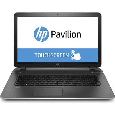 Pavilion TouchSmart 17-f020us 17.3` Notebook PC - AMD Quad-Core A8-6410 Proc.