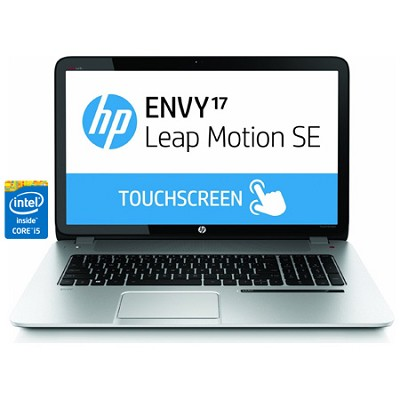 Envy TouchSmart 17.3` 17-j160nr Leap Motion SE Notebook - Intel Core i5-4200M