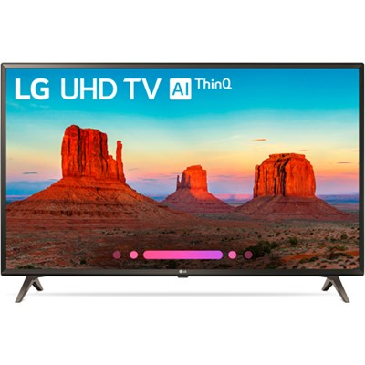43UK6300 43` UK6300 Class 4K HDR Smart LED AI UHD TV w/ThinQ (2018 Model)