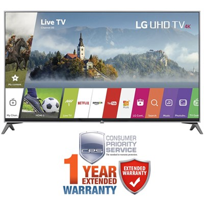 55` Super UHD 4K HDR Smart LED TV 2017 Model with Additional 1 Year Warranty