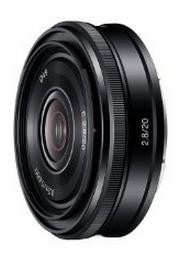SEL20F28 E-mount 20mm F2.8 Prime Lens - OPEN BOX