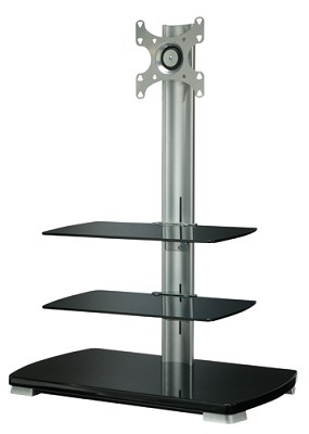FFMF2A - Flat Panel TV Stand for flat panel TVs up to 40` w/ 3 shelves