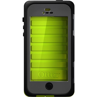 Armor Series Waterproof Case for iPhone 5 - Retail Packaging - Neon Green