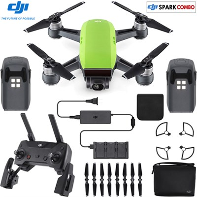 SPARK Fly More Drone Combo Meadow Green - CP.PT.000903