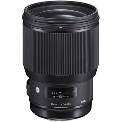85mm F1.4 DG HSM Art Full-Frame Sensor Lens for Sony E Mount Cameras 321965
