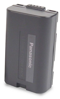 CGR-D08A/CGR-D120 Lithium Battery f/ Panasonic (Up to 1 1/4 hour run-time)