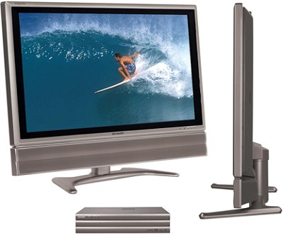 LC-45GX6U AQUOS 45` 16:9 LCD Panel TV w/ AVC System Component