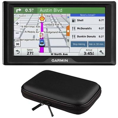 Drive 60LM GPS Navigator (US) - 010-01533-0C Case Bundle