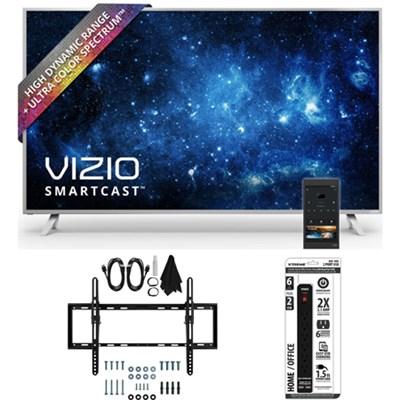 P50-C1 SmartCast P-Series 50` Class Ultra HD HDR TV w/ Tilt Wall Mount Bundle