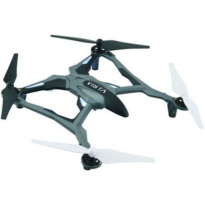 Vista UAV Ready-to-Fly Intense Performance Quadcopter RTF Drone (White) DIDE03W
