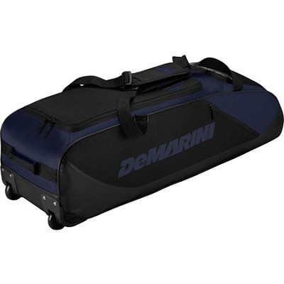 D-Team Wheeled Bat Bag, Navy