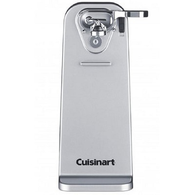 Deluxe Can Opener, Brushed Stainless Steel