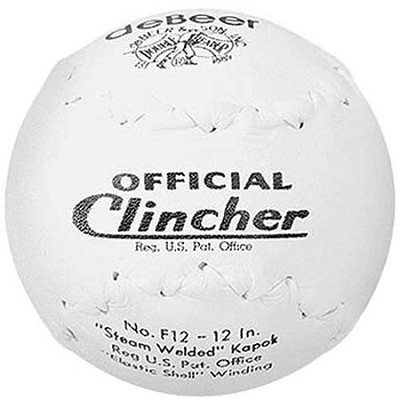 Debeer Clincher 12-Inch Double Header Leather Softball