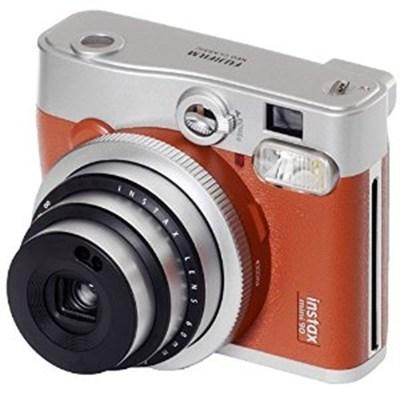 Instax Mini 90 Neo Classic Instant Film Camera Brown - OPEN BOX