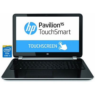 Pavilion TouchSmart 15.6` 15-n240us Notebook PC - Intel Core i3-4005U Processor