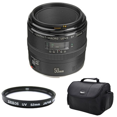EF 50mm F/2.5 Macro Lens Exclusive Pro Kit