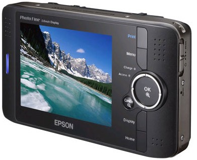 P-4000 Multimedia Storage Viewer w/80GB Hard Drive and 3.8` LCD