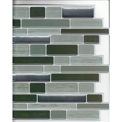 Wall Paper Adhesive Tile Sheets 6 (10` X 10`) Per Pack