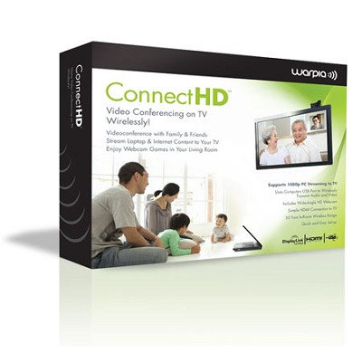 ConnectHD Wireless Video Conferencing and PC to TV Full 1080P