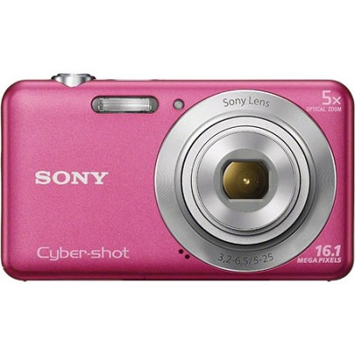 DSCW710 16 MP 2.7-Inch LCD Digital Camera - Pink