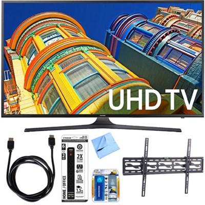 65` Class KU6290 6-Series 4K Ultra HD TV w/ Slim Tilting Wall Mount Bundle