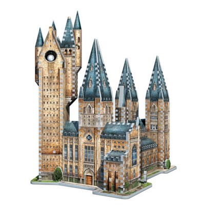 3D Harry Potter Astronomy Tower Jigsaw Puzzle, 875-Piece