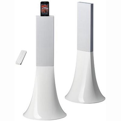 Zikmu Wireless Hi-Fi Speakers by Philippe Starck (Arctic White) PF550230
